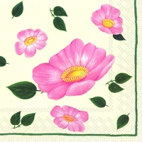 Lunch napkins WILDROSE II