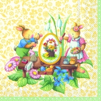 Servilletas Lunch EASTER SPRING FANTASY
