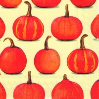 Lunch napkins PUMPKIN PARTY cream