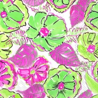 Lunch napkins CALADIUM GARDEN