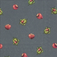 Lunch napkins HAZEL grey