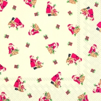 Lunch napkins LITTLE SANTA