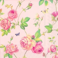 Lunch napkins NEW RAMBLING ROSE rose