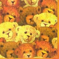 Lunch napkins MEINE FREUNDE