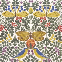 Serviettes lunch Bird and Butterflies (V&A)