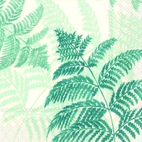 Lunch napkins FERN blue