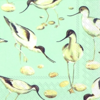 Lunch Servietten AVOCET light blue