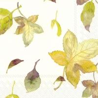 Lunch napkins WELCOME AUTUMN cream