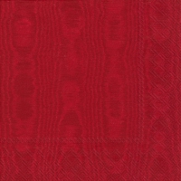 Lunch napkins MOIREE red
