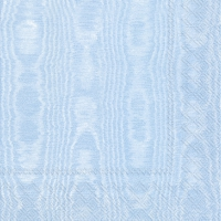 Lunch napkins MOIREE light blue