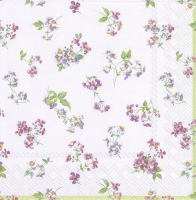 Lunch napkins BELLINA light lilac