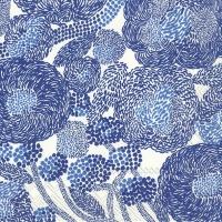 Servilletas 33x33 cm - MYNSTERI azul crema