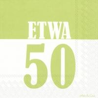 Lunch Servietten ETWA 50 light green