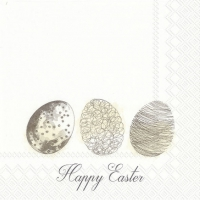 Lunch napkins EASTER MORNING EGGS linen
