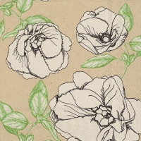 Lunch napkins ann green