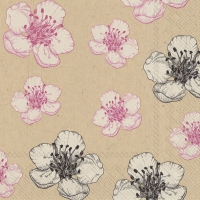 Lunch napkins kim rose