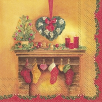 Napkins 33x33 cm - DECORATIVE CHIMNEY