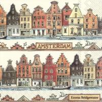 Servietten 33x33 cm - Amsterdam