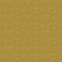 Servetten 33x33 cm - CARINO UNI goud