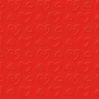 Tovaglioli 33x33 cm - CARINO UNI rosso