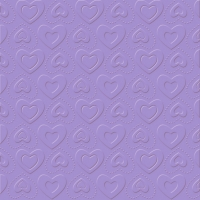 Serviettes de table 33x33 cm - CARINO UNI violet