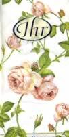 Taschentücher Rambling Rose white
