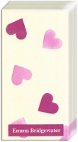 Taschentücher Pink Hearts