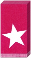 handkerchiefs PURE STAR dark red