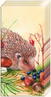 handkerchiefs NOSY LITTLE HEDGEHOG