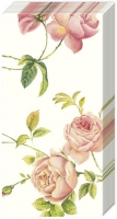 handkerchiefs NEW RAMBLING ROSE cream