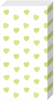 handkerchiefs MY LITTLE SWEETHEART green