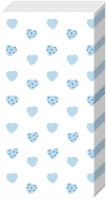 handkerchiefs MY LITTLE SWEETHEART li. blue