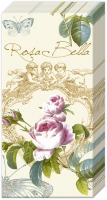 fazzoletti ROSE DE PRINTEMPS cream
