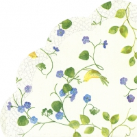 Napkins - round LOVELY HOME cream