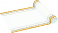 Table Runner CROSS white