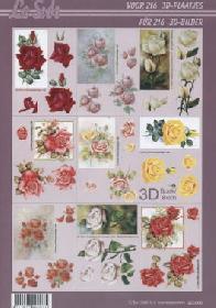 3D Bogen Buch Kleine Motive, 216-Abbildungen - Format A4