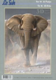 Feuille 3D libro Tiere - Format A4