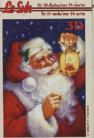 Hojas de 3D - Libro Weihnachtsmann - Formato A6