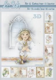 3D sheet book Kommunion - Format A5