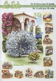 Feuille 3D libro Tiere - Format A5