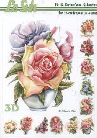 Hojas de 3D - Libro Blumen - Formato A5