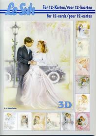3D Bogen Buch Hochzeit - Format A5