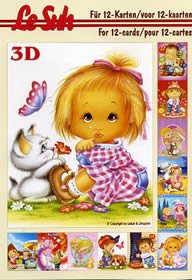 Feuille 3D libro Kinder - Format A5