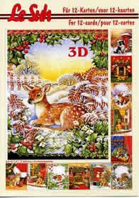 3D sheet book Weihnachten - Format A5
