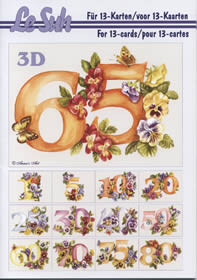 Hojas de 3D - Libro Jubiläum - Formato A5