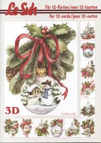 Carta per 3D - Libro Weihnachten - Formato A5