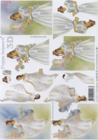 3D Bogen Format A4 - Braut