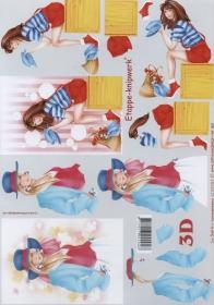 3D sheet Format A4 - Ladys