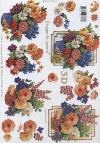 3D sheet Blumenstrauss Format A4