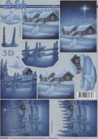 Feuille 3D Format A4
